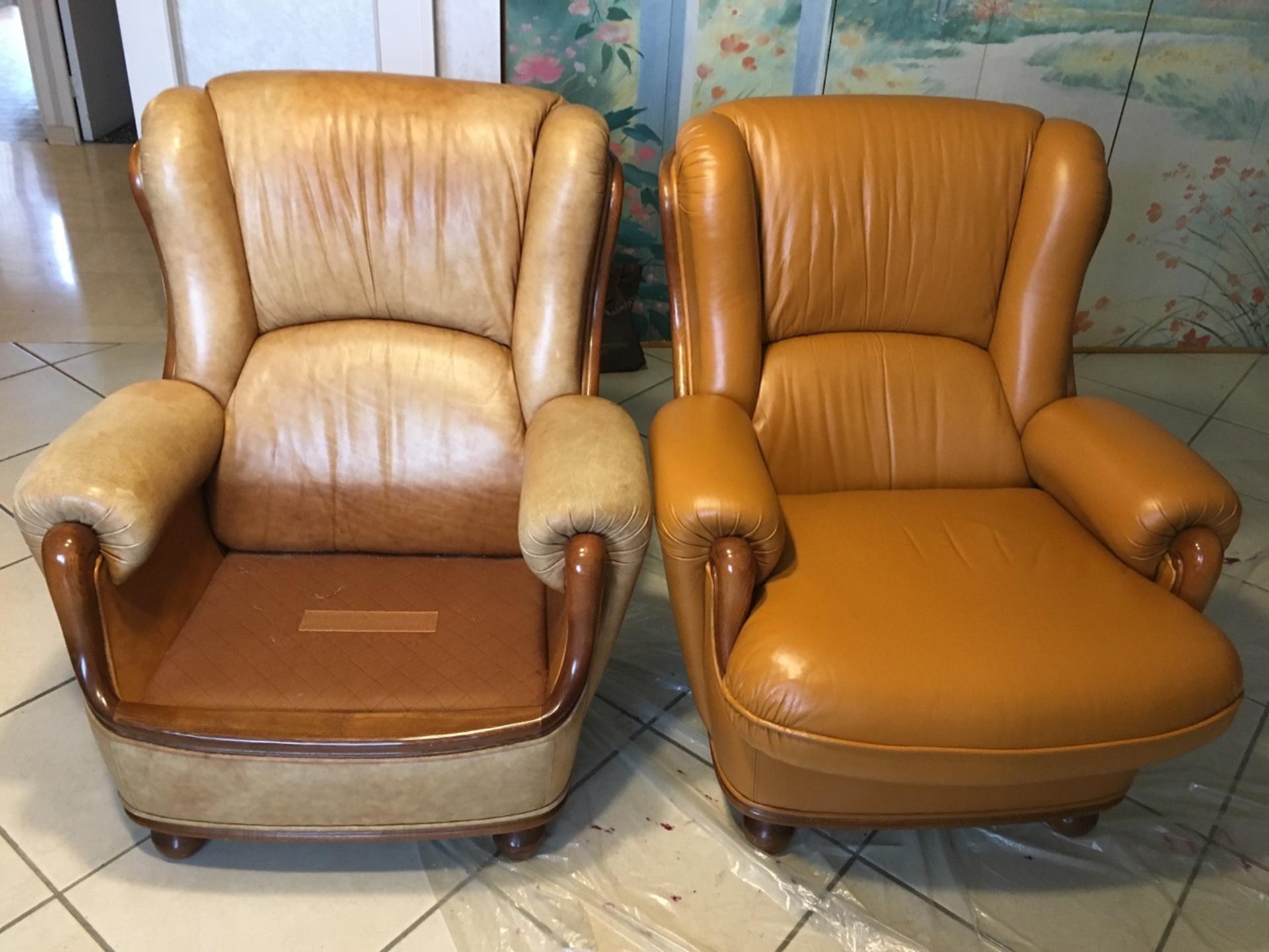 Sos canap fauteuil changement de couleur for Reparation canape cuir griffe chat